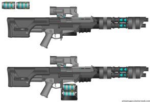 Commando Pulse Rifle by GeneralRich