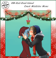 mistletoe meme: crack siv and chase? by oceanlol