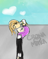 CroMa Ninja Kiss by zaiduck