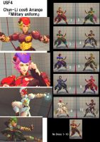 Chun-Li cos6 Arrange ~Military Uniform~ by famika