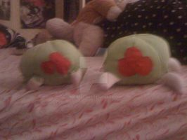 Metroid Plushie- Side by Side by Mila137