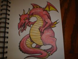 Red Dragon by Freddyferd