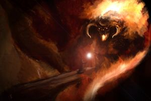 -balrog speedpaint- by Fiwen