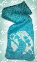 Hitchhiker Scarf by MadMouseMedia