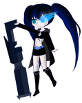 GC-Black Rock Shooter by Nintendraw