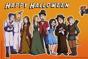 Avengers Halloween 2012 by LauraDoodles