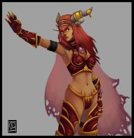 "Alexstrasza  ""light version"" by Lihony"