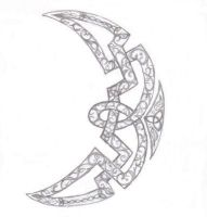 Celtic Moon by VioletSun