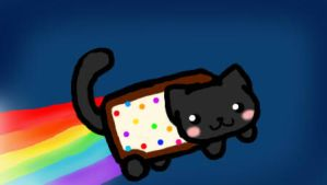 my nyan cat :3 by paothebunny