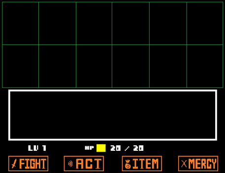 Undertale Encounter Template by blockmariolink42