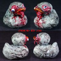 Rot Duck Zombie eye out by Undead-Art
