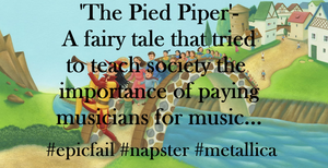 Pied Piper by AndPlusAmpersandAlso