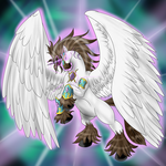 YGO! LD Saphaery Warhorse Winged Unicorn by ArkaDark