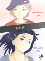 Cover: Handsome Girl and Beautiful Boy by Reicchi123