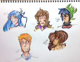 Who are these beautiful people. by Flaming-Starfish