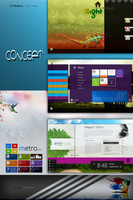 Windows 8 Concept by andreascy