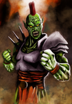 Speed Painting - Punk Orc by Prulap