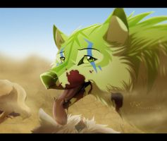 Coyote Hunting by Nightrizer