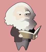 Karl Marx by ohyran