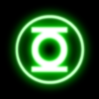 green lanturn button by hfuya