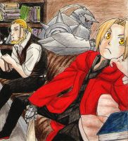 FMA: Family by chibionfire