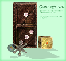 Giant Toys Pack Release by tombraider4ever