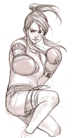 SRU - Kickboxing Korra by Destiny-Smasher