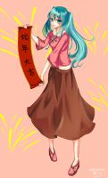 Happy chinese new year by Frescholy