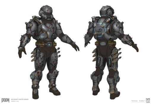 DOOM - MP Bounty Hunter Set 1 by emersontung