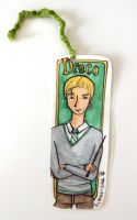 Draco bookmark by button-bird