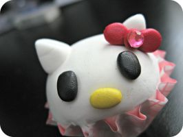 Hello Kitty Paper Weight by cupcakecutiefriends