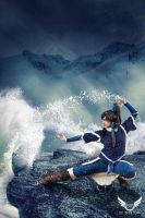 Avatar Korra by SFDesign21
