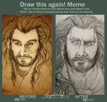 Draw This Again! [THORIN again!] by AngieParadiseeker
