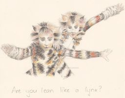 Are you lean like a lynx? by chickenpopcorn