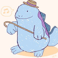 Gentleman Quagsire by SakiChiRocks