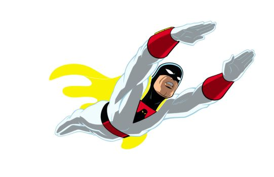 SPACE GHOST by Jerome-K-Moore