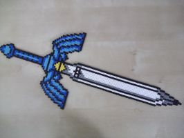 Link's Master sword by capricornc5
