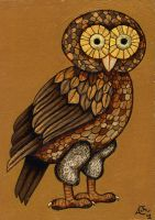 A Brown Owl by Bombadyl