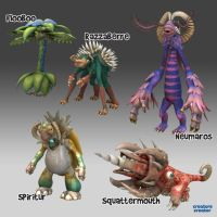 Spore Creations Showcase 7 by bernoully