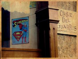 Poster Superman in a Pub by eriksuperboy