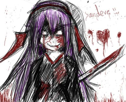 Yandere's love by Anshel23