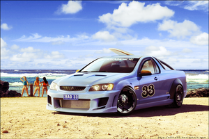 Holden SS ute by ollite20