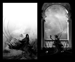 Philosopher Diptych by Aphariel