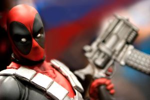 Dead Pool Figure #1 by eastphoto99