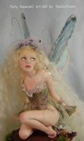 fairy Rapunzel, doll by polymer-people