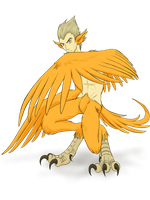 30 Monster Challenge 01 - Harpy by SanchaySquirrel