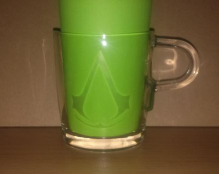 Etched Glass Mugs: Assassin's Creed by In54nity
