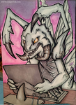 Marker Card Commision - Xharag by reaperfox