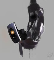 GLaDOS by Firegardensuite