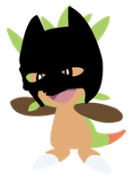 The Dark Knight Chespin by Remnance